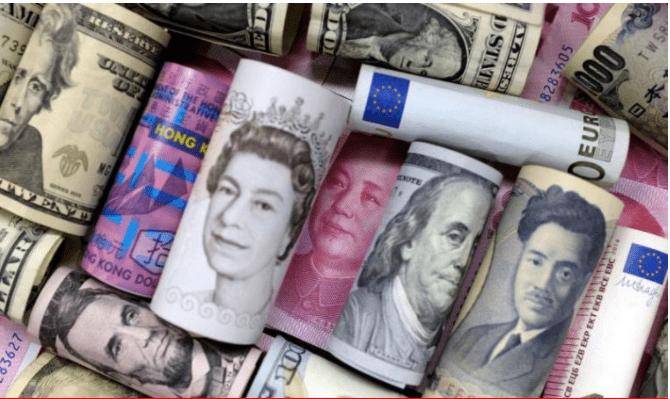 Седум недели ниска вредност на доларот во однос на другите светски валути