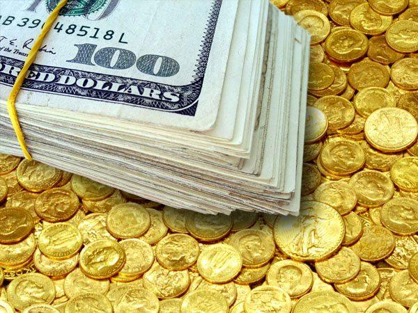 Златото паѓа упорно како што се повеќе расте доларот !