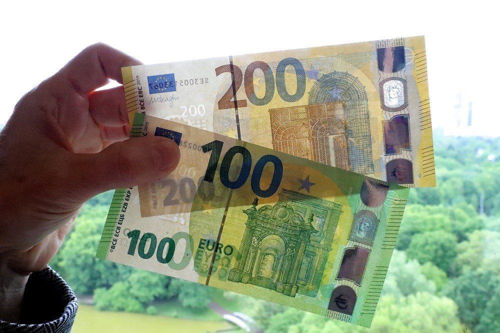 (Фото) Вака ќе изгледаат новите банкноти од 100 и 200 евра