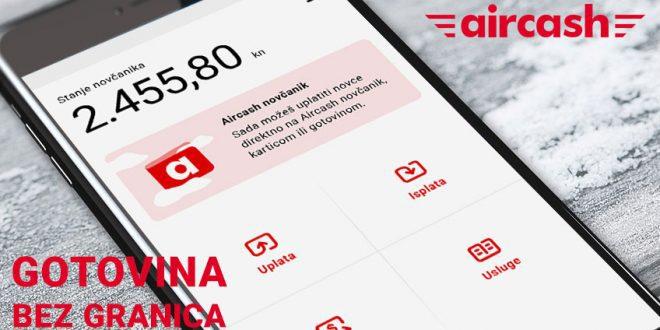 Хрватскиот фитек AirCash обезбедува меѓународна услуга за трансфер на пари