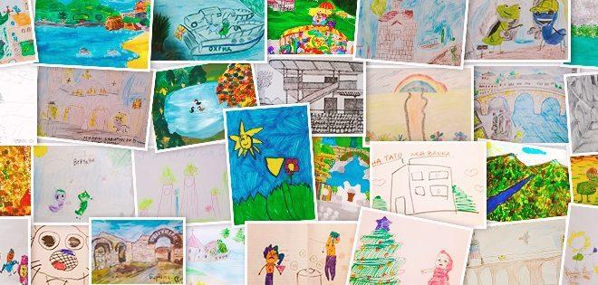 НЛБ Банка ги објави најубавите детски цртежи во рамките на НЛБ Месецот на штедење